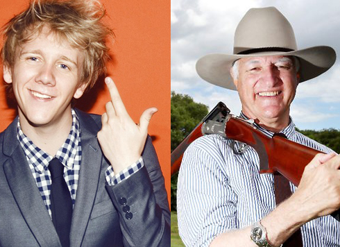 Josh Thomas and Bob Katter have forged a powerful political alliance through diversity.