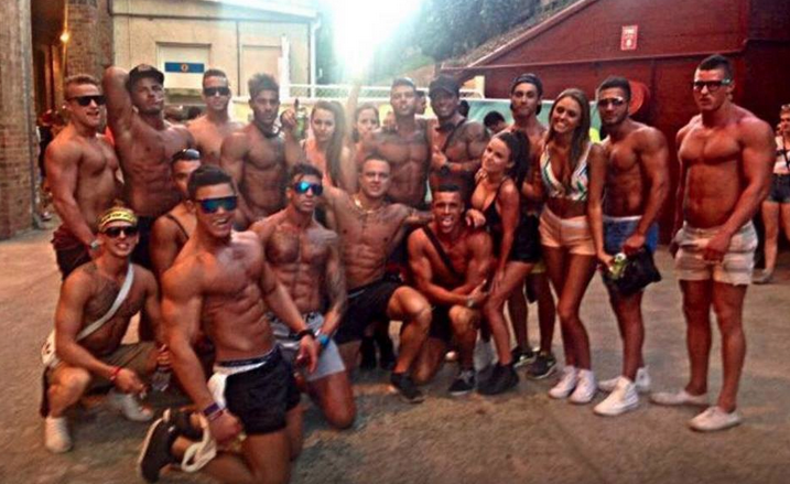 Well prepared party-goers show off their new and improved 'summer rigs'