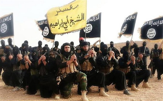 Members of the Islam State of Iraq and Shaam (ISIS) - an example of non-Christian religious extremism