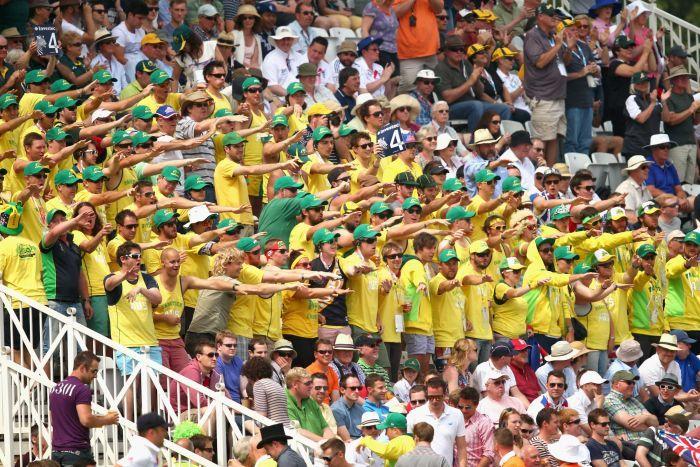Image result for australian fans cricket