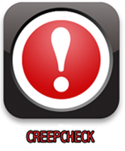 CREEPCHECK! available in the appstore today
