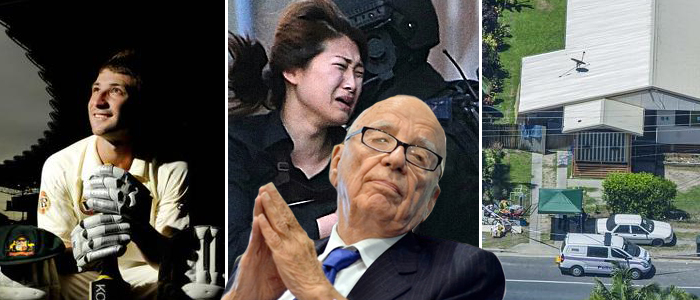"News Corp is being accused of ""profiteering"" on recent Australian tragedies."