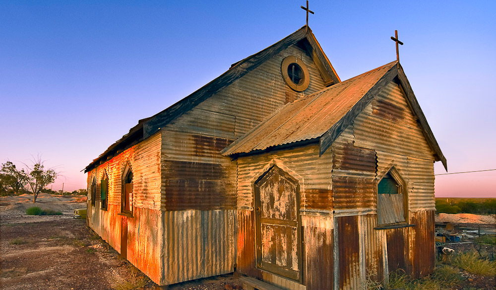 "The Betoota Diocesan Cathedral, built in 1852, is the sole reason Betoota has ""City-Status"""