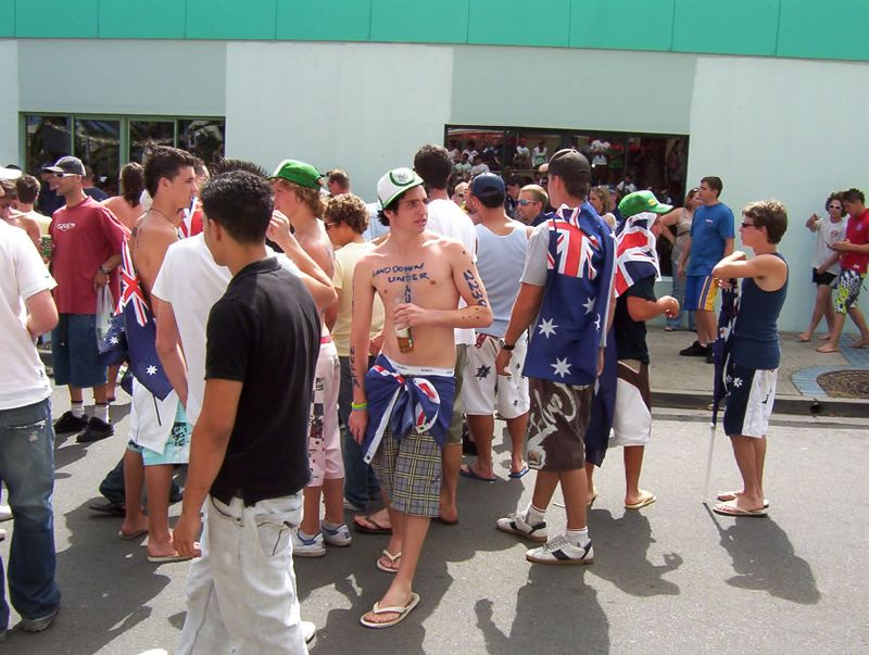 "Cronulla, 2006: The day ""flag-capes"" played an orchestrative roll in inciting a race riot"