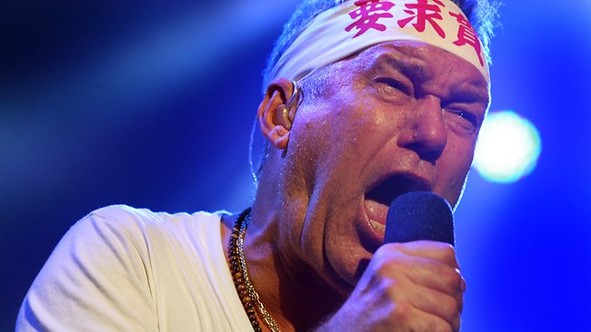 "Scottish-Born Jimmy Barnes of Cold Chisel, one man that many feel is the ""typical Aussie"""