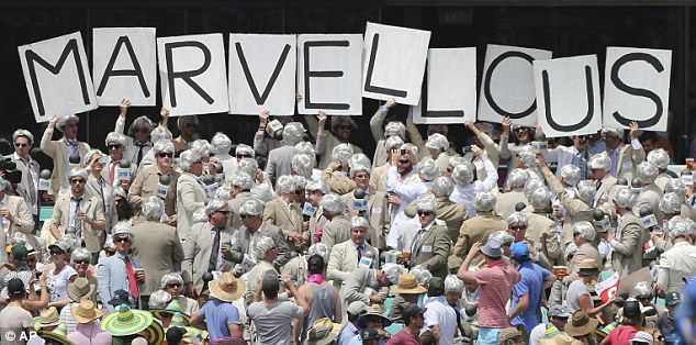 """The """"Richies"""" head to the crease early this morning. Early reports suggest the SCG has entered a panic-mode at all bars in the south end"""