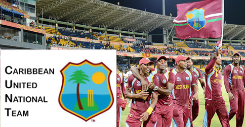 "The new Carribean United National Team logo, a controversial decision that has upset many ""West Indies"" fans"