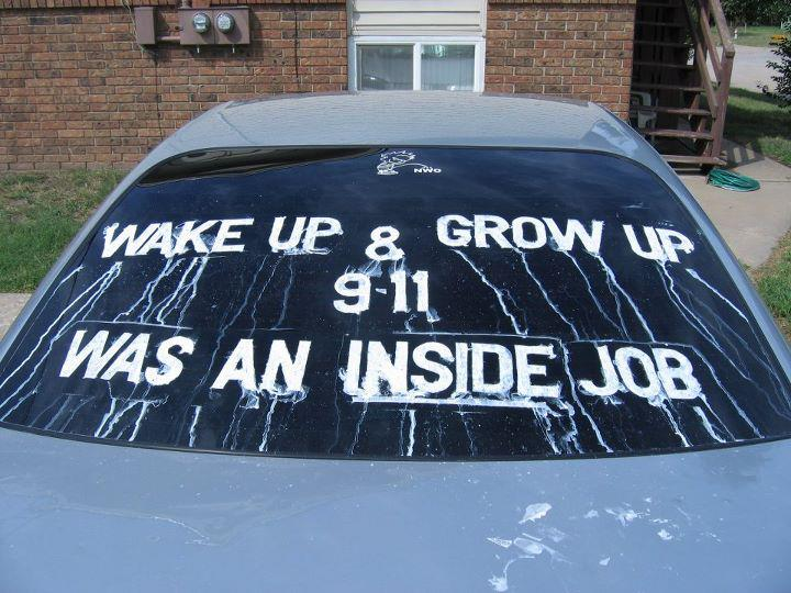 Chris Frith's car in his North Betoota driveway.
