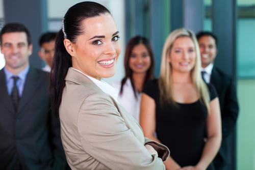Abigaile Mallhouse and her staff are ready to get down to business. PHOTO: Clarke Fondue/Bingara Free Press