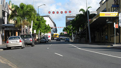 Caxton Street, an iconic strip of Brisbane pubs only a stones throw away from Suncorp Stadium