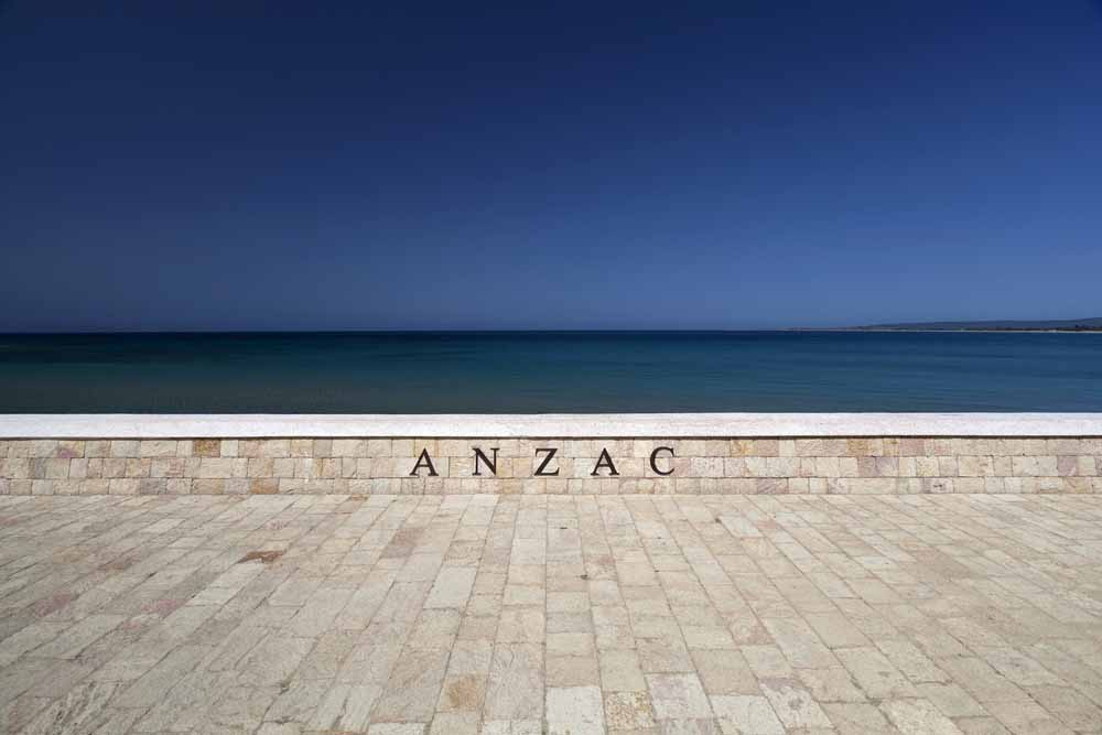 ANZAC COVE, Gallipoli. A place of historic importance to both Turkish and Australians