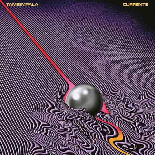 The new album artwork for Tame Impala's next record Currents. SOURCE: Spinning Top Records.