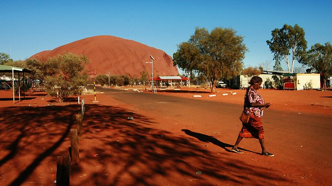 "The population of the Aboriginal community of Mutitjulu, next to Uluru is expected to be ""moved along"" if the CSG companies find anything worth digging up"