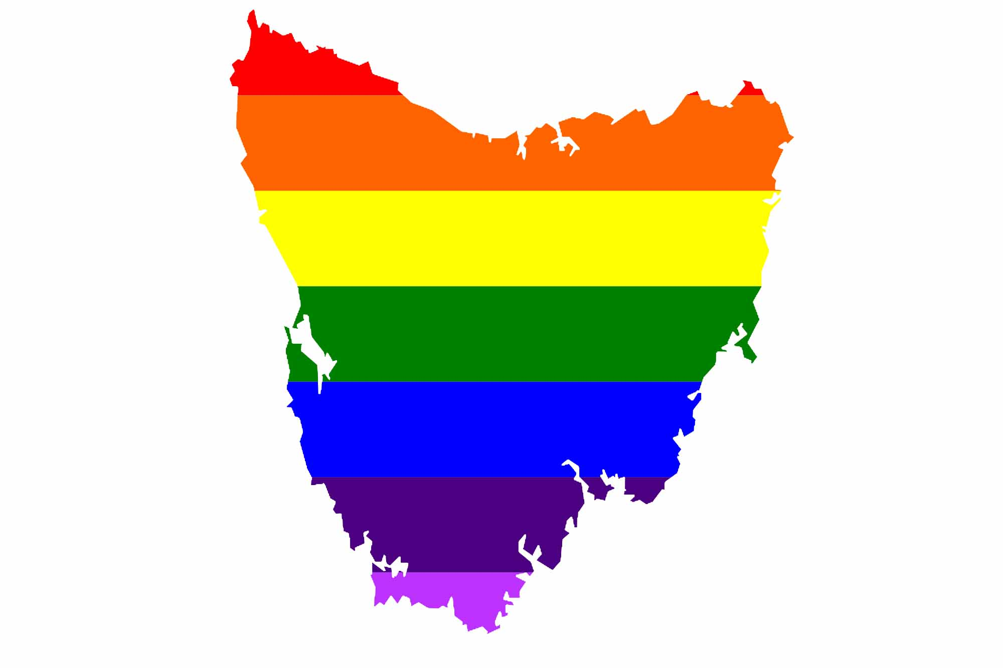 rainbow tassie