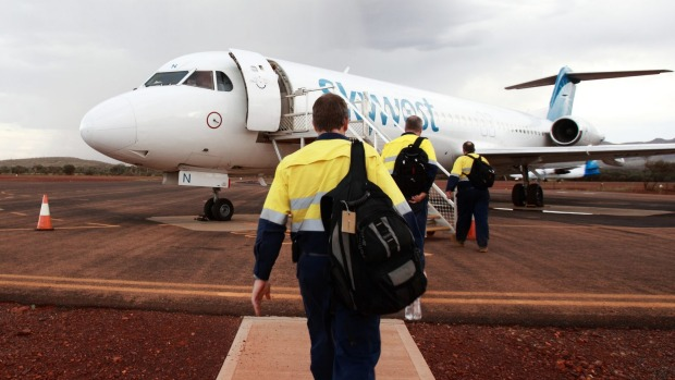 The FIFO (fly in, fly out) blues