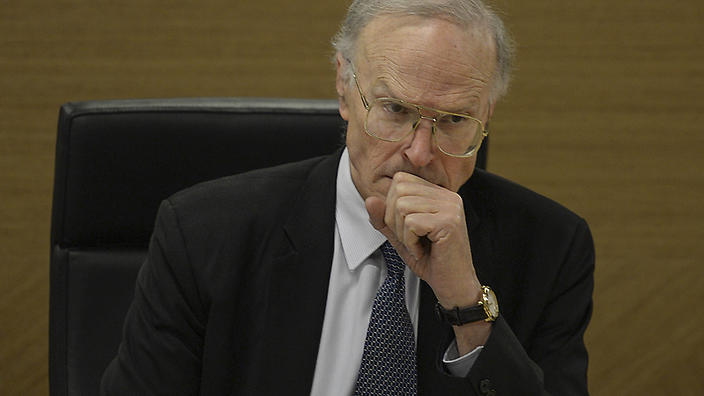 Dyson Heydon, former Royal Commissioner into Trade Union Corruption and Governance