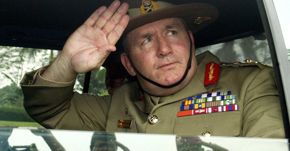 His Excellency General The Honourable Sir Peter Cosgrove AK, MC says Fiji should expect Australia to re-coup if they coup. PHOTO: Supplied.