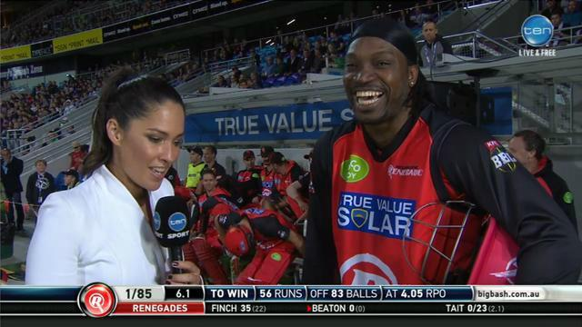 Chris Gayle shocks and sickens the entire nation with his sickening and warm comments toward Mel Mcloughlin.