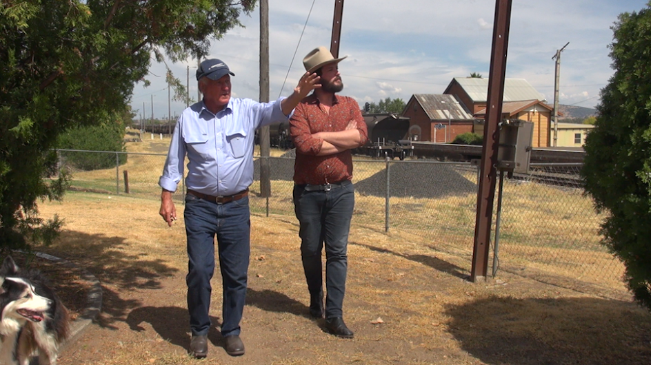 "Tony Windsor shows us around Werris Creek, NSW. ""The Bindi Capital Of Australia"""